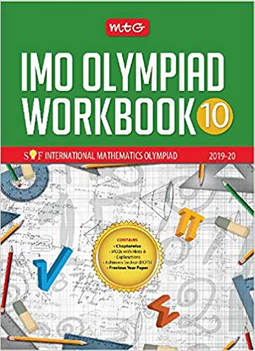 International Mathematics Olympiad Work Book (IMO)  - Class 10               (2019 - 2020) - bookmarshal.com
