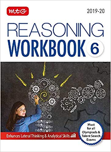 Reasoning Olympiad Work Book - Class 6               (2019 - 2020) - bookmarshal.com