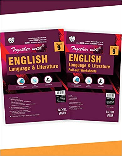 Together with  - ENGLISH (BEEHIVE , MOMENTS) study material & pull out worksheets - 9                  (2019 - 2020) - bookmarshal.com