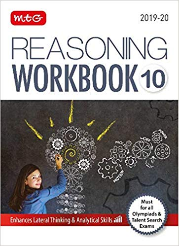 Reasoning Olympiad Work Book  - Class 10               (2019 - 2020) - bookmarshal.com