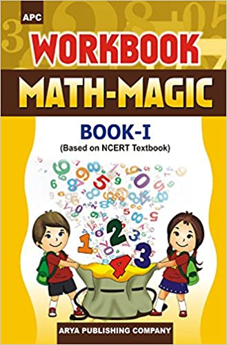 Math - Magic (Maths) - 1st          WORKBOOK - 2020 (Based on NCERTs) - bookmarshal.com