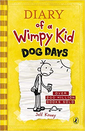 Diary of a Wimpy Kid: Dog Days - bookmarshal.com