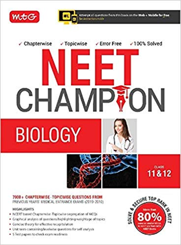 BIOLOGY  Champion for NEET                  (2019 - 2020) - bookmarshal.com
