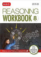 Olympiad Reasoning Work Book - Class 8               (2019 - 2020) - bookmarshal.com