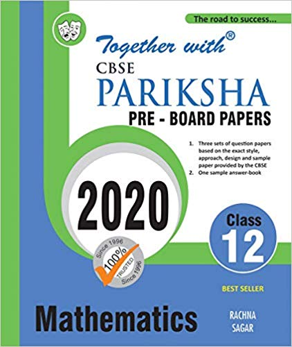 CBSE  - MATHEMATICS Pariksha Pre Board Papers - 12                  (2020 Examination) - bookmarshal.com