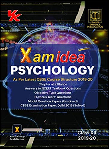 Xam Idea  - PSYCHOLOGY - 12                  (2019 - 2020) - bookmarshal.com