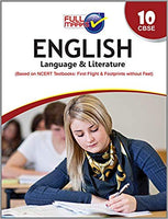 Full Marks -  ENGLISH (Language & Literature) - 10          (2020 - 2021)    CBSE - bookmarshal.com