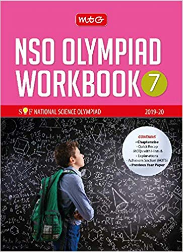 National Science Olympiad Work Book (NSO)  - Class 7               (2019 - 2020) - bookmarshal.com