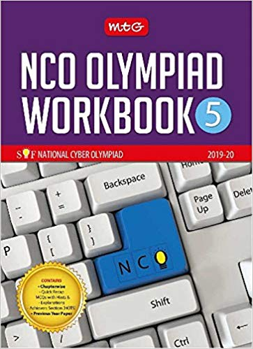 National Cyber Olympiad Work Book (NCO)  - Class 5               (2019 - 2020) - bookmarshal.com