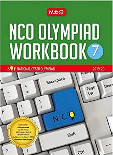 National Cyber Olympiad Work Book (NCO)  - Class 7               (2019 - 2020) - bookmarshal.com