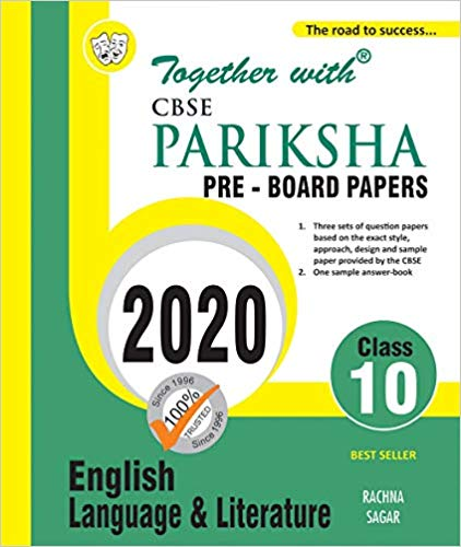 CBSE  - ENGLISH Pariksha Pre Board Papers - 10                  (2020 Examination) - bookmarshal.com