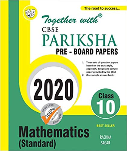 CBSE  - MATHEMATICS (standard) Pariksha Pre Board Papers - 10                  (2020 Examination) - bookmarshal.com