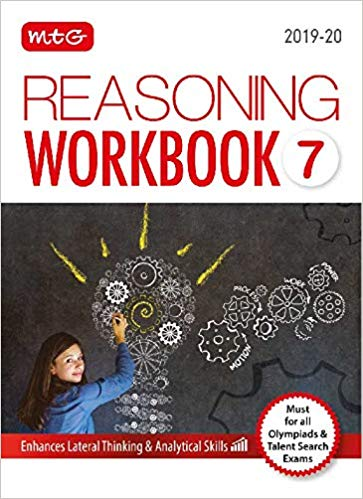 Reasoning Olympiad Work Book   - Class 7               (2019 - 2020) - bookmarshal.com