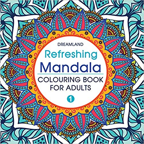 Refreshing Mandala - Colouring Book for Adults Book - I