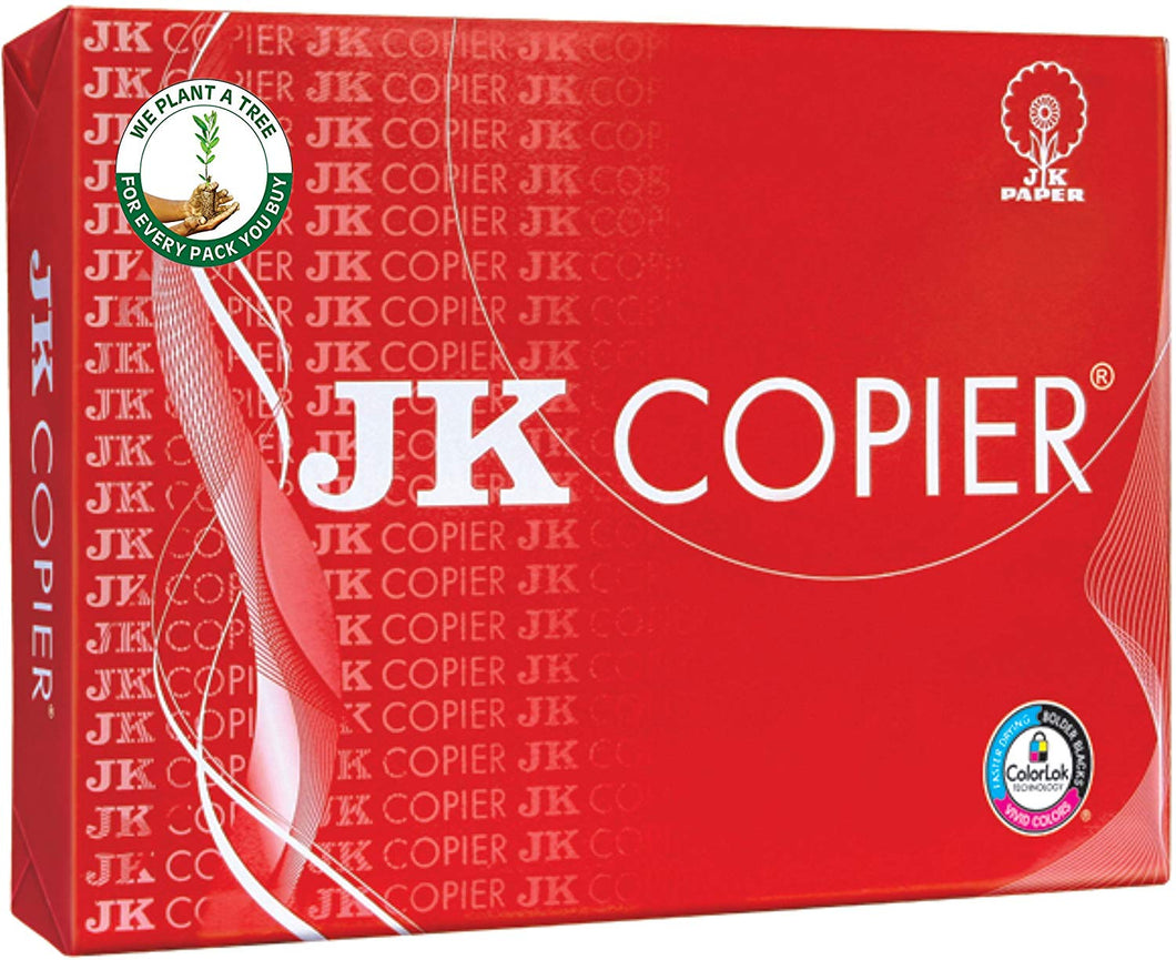 JK Copier 75 GSM A4 500 Sheets Copier Paper Box (5 Reams) -  2500 total sheets - bookmarshal.com