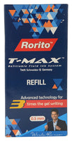 Rorito T-Max Gel Ink Refill, Pack of 20 Refills - bookmarshal.com