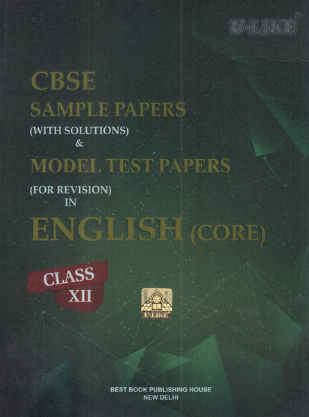 U-Like - ENGLISH Sample & Model test paper(with solutions) - 12                  (2019 - 2020) - bookmarshal.com