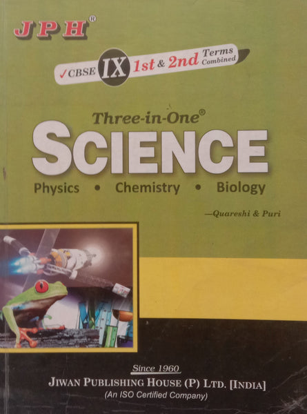 Second Hand - Science Guide - 9  JPH