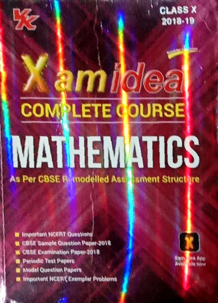 Second Hand - Mathematics - Xam Idea  - 10           2019 Edition