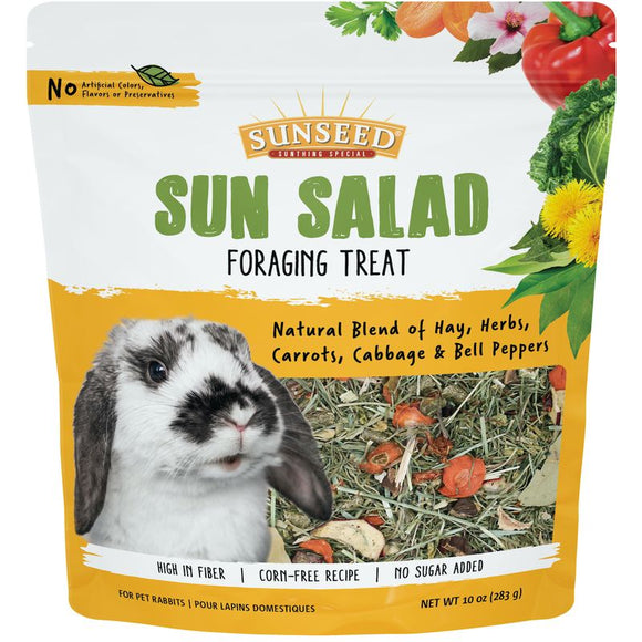 Sunseed Vita Prima Sun Salad Foraging Treats For Rabbits, 10oz