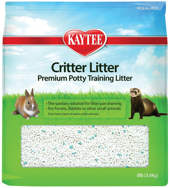 Kaytee Critter Litter Premium Potty Training Small Animal Litter, 8-lb bag