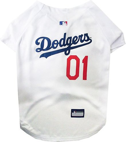 Pets First MLB Dog Jersey - Dodgers