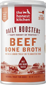 The Honest Kitchen Daily Boosters Beef Bone Broth 3.6oz