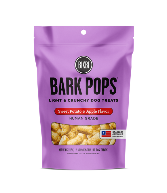 Bixbi Bark Pops Sweet Potato & Apple