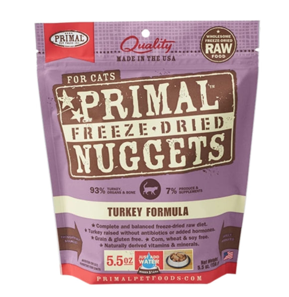 Primal Freeze-Dried Turkey Formula 5.5oz