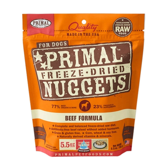 Primal Freeze-Dried Beef Formula 5.5oz