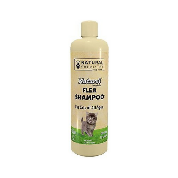 Natural Chemistry Cat Flea Shampoo 16oz