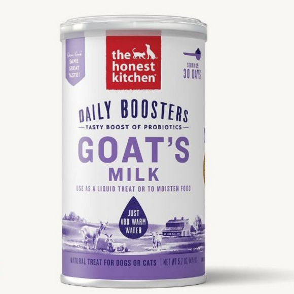 The Honest Kitchen Daily Boosters Goat's Milk 5.2oz