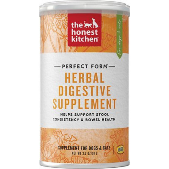 The Honest Kitchen Herbal Digestive Supplement 3.2oz
