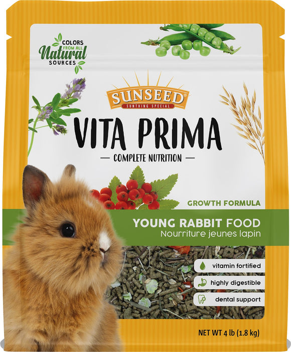Sunseed Vita Prima Young Rabbit Food, 4-lb bag