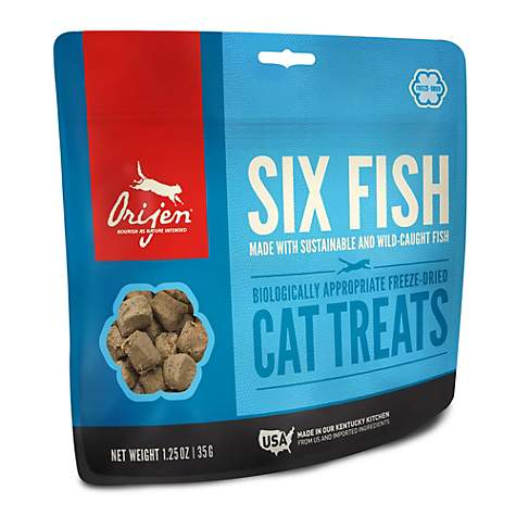 Orijen Freeze-Dried Six Fish Cat Treats 1.25oz