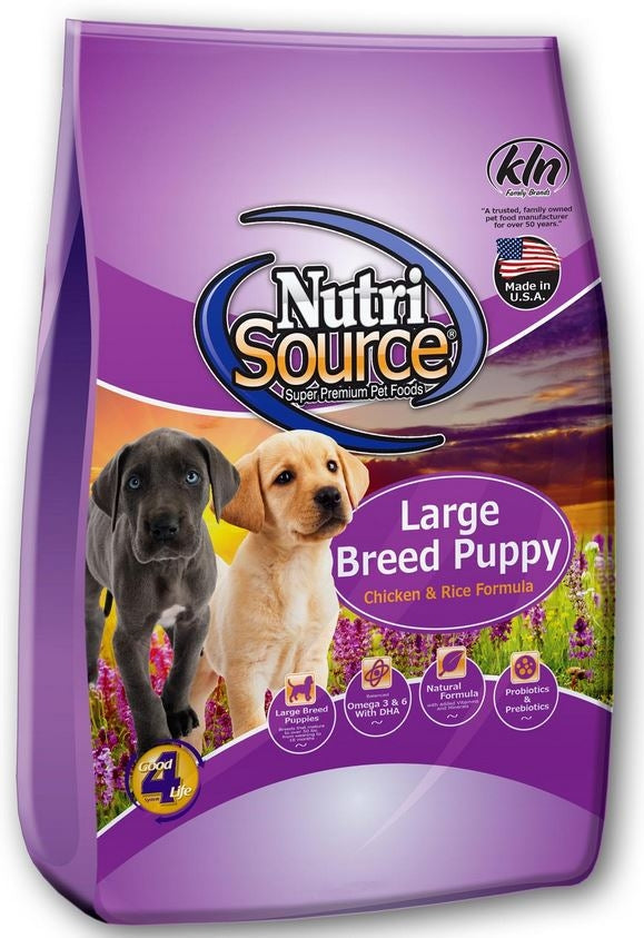 NutriSource Large Breed Puppy Chicken and Rice Dry Dog Food