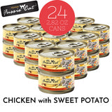 Fussie Cat Super Premium Chicken with Sweet Potato Formula in Gravy Canned Food