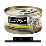 Fussie Cat Premium Tuna with Mussels Formula in Aspic Canned Food