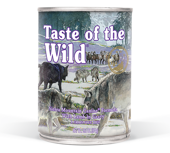 Taste Of The Wild Sierra Mountain Canine Canned Dog Food