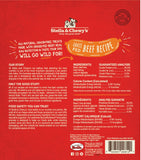 Stella & Chewy's Wild Weenies Grain Free Beef Recipe Freeze Dried Raw Dog Treats