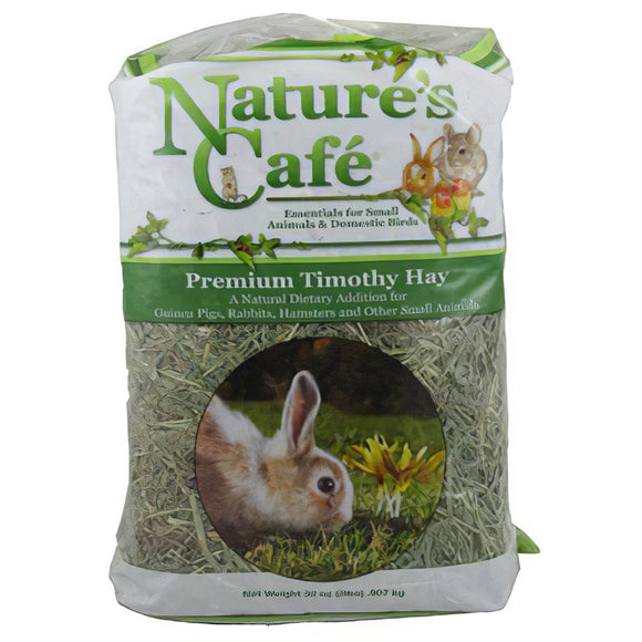 Nature's Cafe Timothy Hay Bale, 2lb