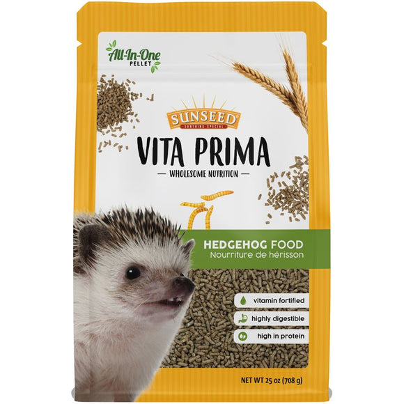 Sun Seed Vita Prima Sunscription Hedgehog Food, 25 oz.