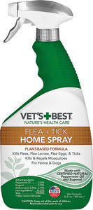 Vet's Best Indoor Flea & Tick Spray for Dogs & Cats