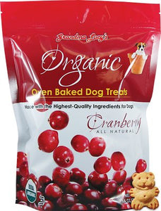 Grandma Lucy Organic Cranberry Oven Baked Dog Treats