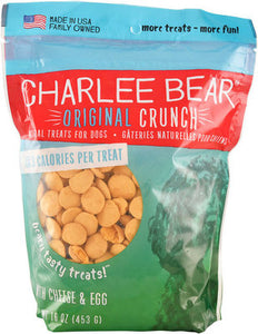 Charlee Bear Cheese & Egg Flavor Dog Treats, 16-oz bag