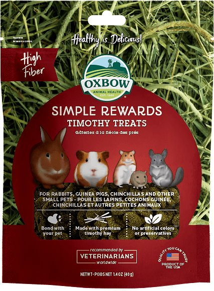 Oxbow Simple Rewards Timothy Small Animal Treats