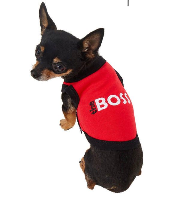 Parisian Pet The Boss Dog & Cat T-Shirt