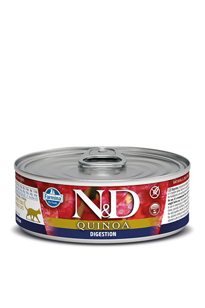 Farmina N&D Digestion Quinoa & Lamb Canned Cat Food