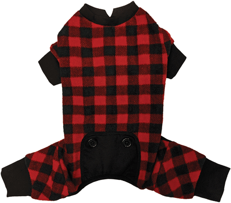 Fashion Pet Buffalo Plaid Pajamas