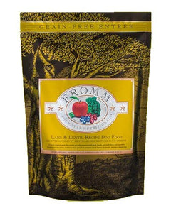 Fromm Lamb and Lentil Grain Free Dry Dog Food
